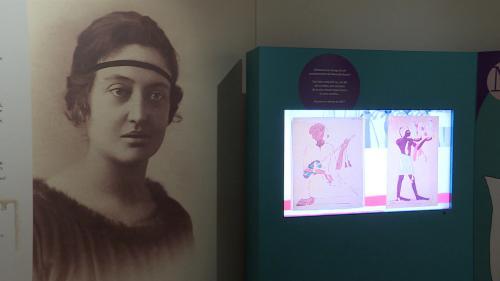 Image de couverture - La vie de l'égyptologue pionnière Marcelle Baut, à découvrir au musée Bargoin de Clermont-Ferrand