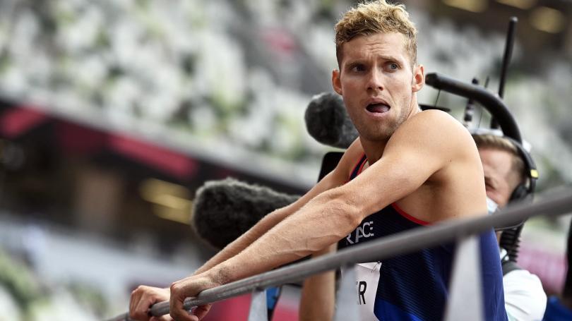 Image de couverture - JO 2021 : le décathlonien Kevin Mayer inquiète, un nouveau record sur 400 m haies dames, la jeunesse japonaise encore sacrée en skate... Ce qu'il faut retenir des épreuves de la nuit
