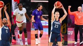 Image de couverture - JO 2021 : basket, hand, volley… Le programme complet des demi-finales des cinq équipes de France jeudi et vendredi