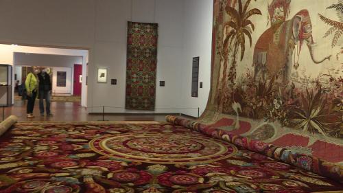 Image de couverture - À Aubusson, la Cité internationale de la tapisserie rend hommage à la manufacture Sallandrouze de Lamornaix