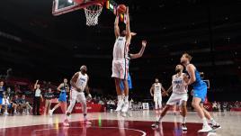 Image de couverture - VIDEO. JO 2021 - Basket : revivez les moments forts de la demi-finale victorieuse des Bleus face à la Slovénie