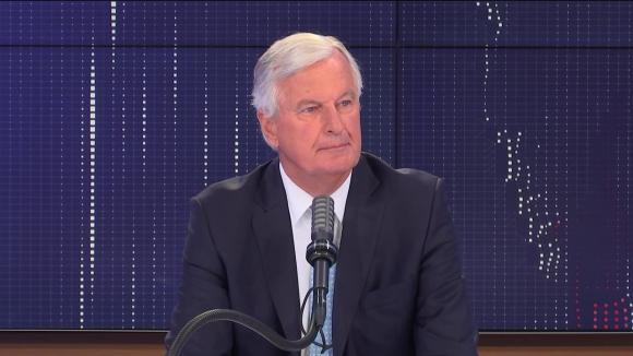 """Michel Barnier, ex-négociateur en chef de l'Union européenne pour le Brexit, était l'invité du """"8h30 franceinfo"""", mercredi 11 août 2021."""
