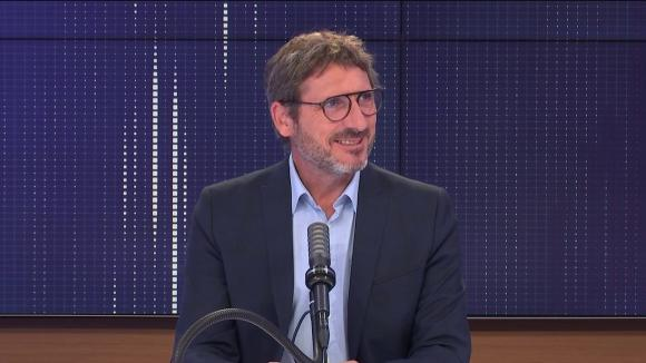 """Matthieu Orphelin, député écologiste du Maine-et-Loire, était l'invité du """"8h30 franceinfo"""", mercredi 18 août 2021."""