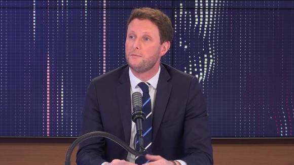 """Clément Beaune,secrétaire d'Etat aux Affaires européennes, était l'invité du """"8h30 franceinfo"""", jeudi 19 août 2021."""