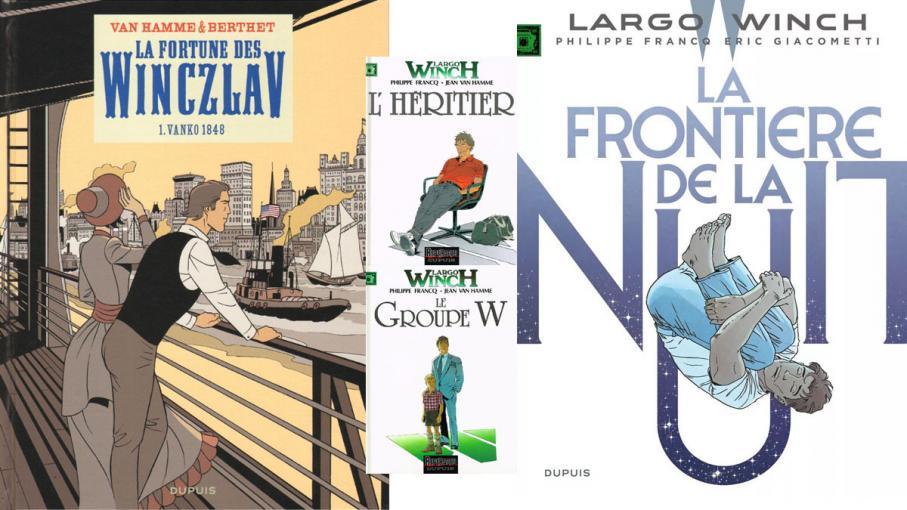 BD, bande dessinée. Un été en séries : Largo Winch