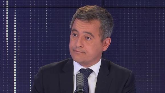Gérald Darmanin était l'invité de franceinfo mardi 24 août 2021.