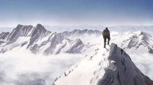 """Image de couverture - Vertigineux et poétique, le film d'animation """"Le Sommet des Dieux"""" de Patrick Imbert rend justice à l'œuvre de Taniguchi"""