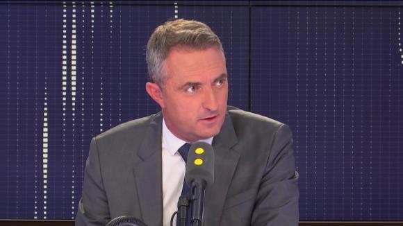 Stéphane Ravier, sénateur Rassemblement national des Bouches-du-Rhône et président du groupe RN au conseil municipal de Marseille, sur franceinfo.