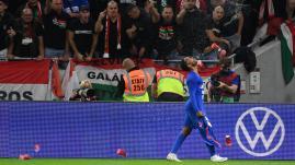 Image de couverture - Eliminatoires de la Coupe du monde 2022 : la Hongrie sanctionnée par la Fifa après les incidents racistes survenus lors du match contre l'Angleterre