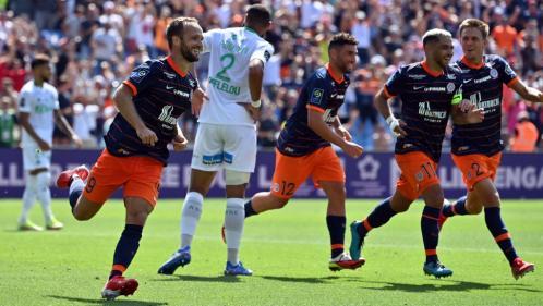 Ligue 1 : Montpellier s'impose logiquement face à Saint-Etienne