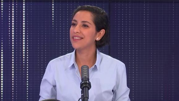 Sarah El Haïry, secrétaire d'État auprès du ministre de l'Éducation nationale, de la Jeunesse et des Sports, chargée de la Jeunesse et de l'Engagement, le 12 septembre 2021 sur franceinfo.