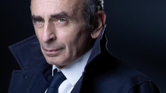 Le polémisteÉric Zemmour, photographié à Paris le 22 avril 2021.