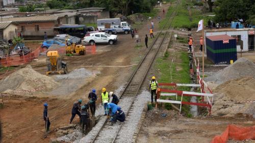 Côte d'Ivoire : les travaux du futur métro d'Abidjan ont commencé