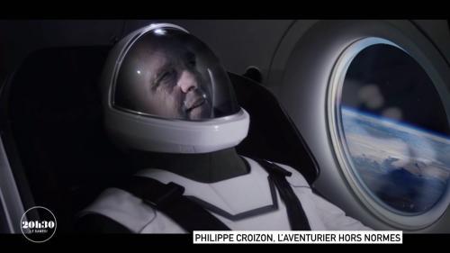"""En 2010, l'aventurier Philippe Croizon, amputé des quatre membres, a traversé la Manche. Sept ans plus tard, il a participé au Paris-Dakar. Et il a écrit à Elon Musk, le milliardaire américain patron de SpaceX, pour lui demander de l'envoyer dans l'espace. La réponse? Oui! Extrait du magazine """"20h30 le samedi""""."""