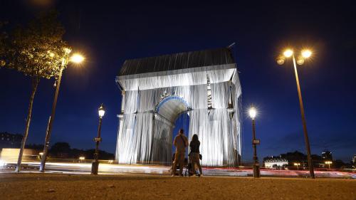 EN IMAGES. Arc de Triomphe empaqueté : dans les coulisses de l'œuvre posthume de Christo