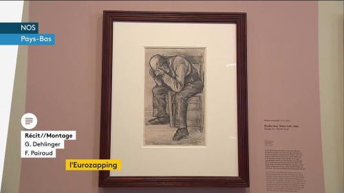 Eurozapping : le gouvernement attaqué en justice en Autriche ; un dessin inédit de Van Gogh