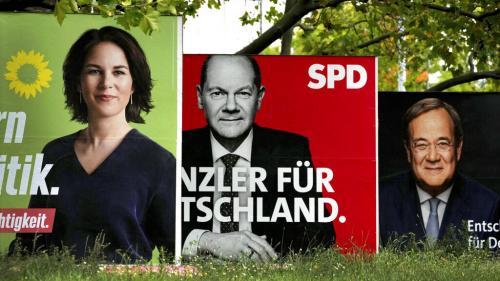 Elections fédérales allemandes : Mickey Mouse, feux tricolores, Jamaïque... On vous résume les possibles coalitions de l'ère post-Merkel