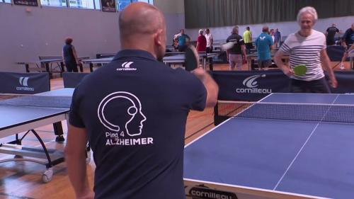 Santé : le ping-pong pour aider les malades d'Alzheimer