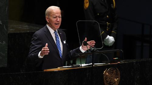 """Les Etats-Unis """"ne cherchent pas une nouvelle guerre froide"""", affirme Joe Biden devant l'ONU"""