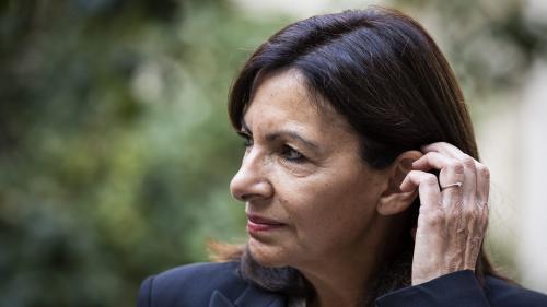 Crack à Paris: depuis les jardins d'Eole, Anne Hidalgo