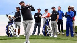 Image de couverture - DIRECT. Golf : les États-Unis virent en tête