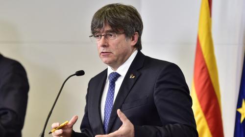 Regarder la vidéo Carles Puigdemont, l'ancien président indépendantiste de la Catalogne, a été arrêté en Sardaigne, annonce son avocat