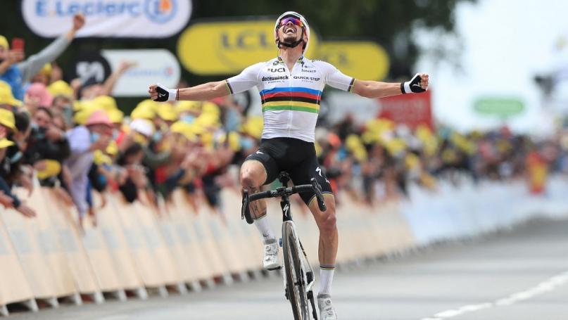 Image de couverture - Cyclisme : Alaphilippe, une année arc-en-ciel aux couleurs contrastées