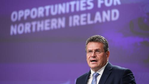Irlande du Nord: Bruxelles propose d'alléger les contrôles post-Brexit