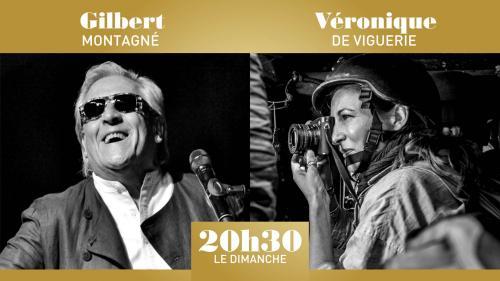 """""""20h30 le dimanche"""" avec Gilbert Montagné et Véronique de Viguerie"""