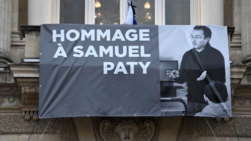 DIRECT. Un an après l'assassinat de Samuel Paty, des hommages rendus au collège de Conflans-Sainte-Honorine et au ministère de l'Education nationale