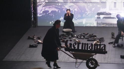 """Huit ans après sa création à Genève, l'opéra """"Siegfried, nocturne"""" d'Olivier Py et Michael Jarrel renaît à Nantes"""
