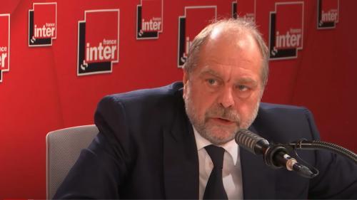 """Éric Dupond-Moretti en a """"un peu ras-le-bol"""" du """"buzz"""" autour d'Éric Zemmour"""