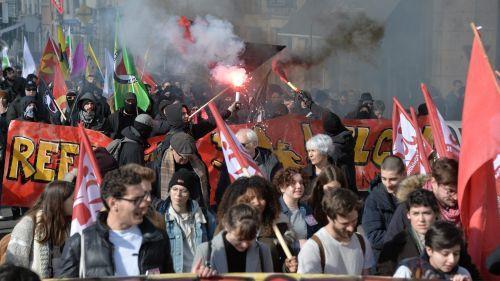 Lyon : une manifestation contre l'extrême droite sous tension