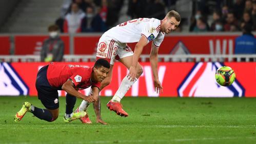 Ligue 1 : Lille bute sur Brest et reste dans le ventre mou du championnat