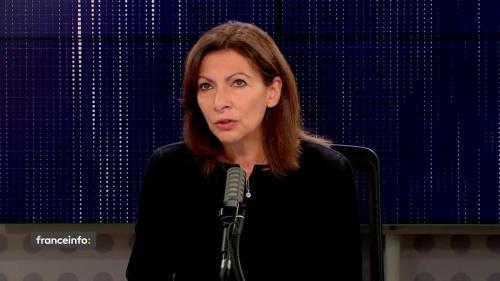 """VIDEO. Sandrine Rousseau demande à Anne Hidalgo de se rallier à EELV pour la présidentielle: """"Merci Sandrine mais je ne le ferai pas"""", répond la candidate PS"""