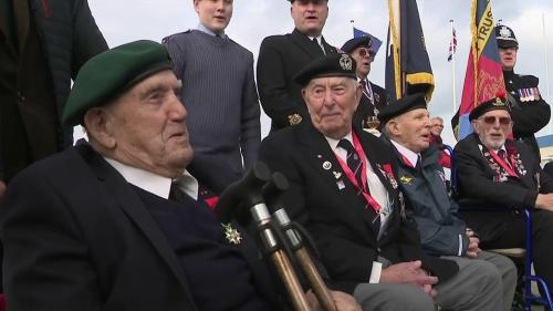 Léon Gautier est le dernier survivant français du célèbre commando Kieffer. Ce mercredi 27 octobre, il fête ses 99 ans. La veille, il participait, avec les vétérans britanniques, aux commémorations du débarquement dans le Calvados