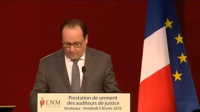"""Hollande : la loi contre le terrorisme """"ne constituera pas un état d'urgence permanent"""""""