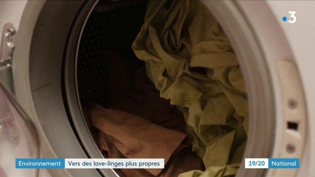 Environnement : des lave-linge filtrants d'ici 2025