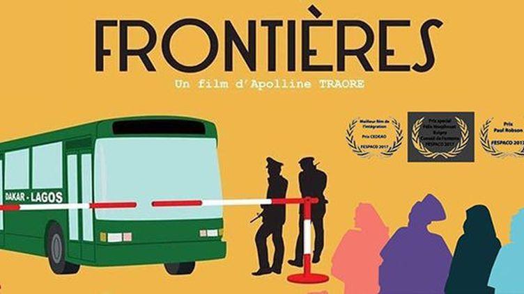 Affiche du film «Frontières» réalisé par Apolline Traoré (DR)