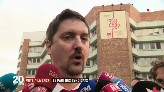 SNCF : les syndicats misent sur le vote des cheminots