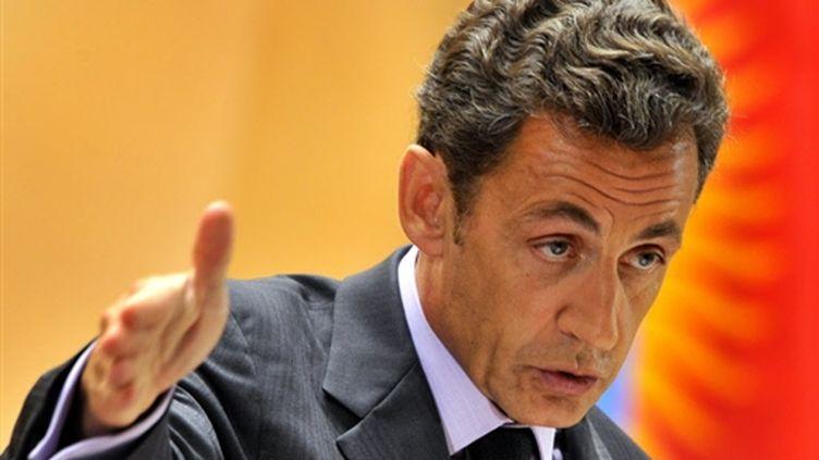 Nicolas Sarkozy (© AFP - Fabrice Coffrini)