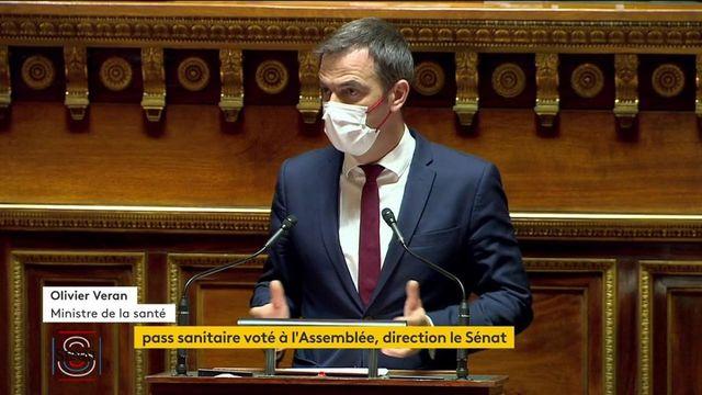 Pass sanitaire : après l'adoption du projet de loi par l'Assemblée, le Sénat se penche sur le texte