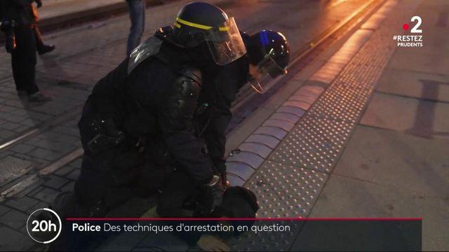 Police : des techniques d'arrestation en question