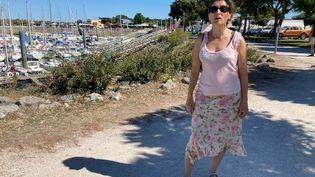 Anne-Laure Guerrand joue les guides dans le nord de l'île d'Oléron, où elle possède une maison. (INGRID POHU / RADIO FRANCE)