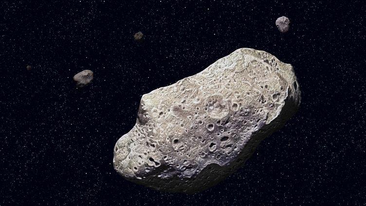 L'astéroïde Ida, découvert en 1993. (GETTY IMAGES)