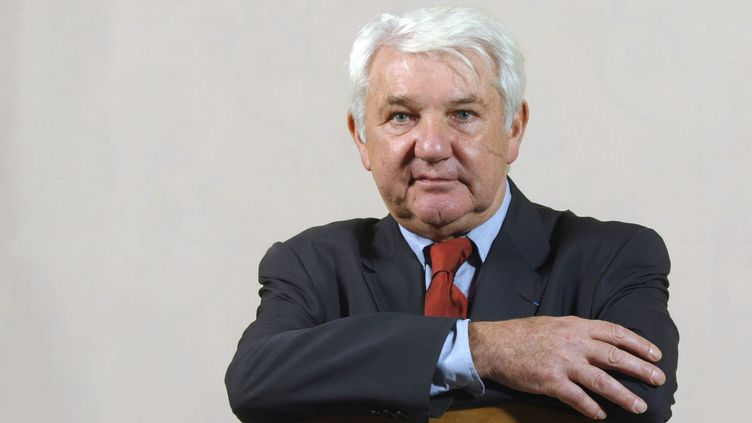 Philippe Cassegrain avait travaillé 60 anspour la griffe créée par son père. (MARTIN BUREAU / AFP)