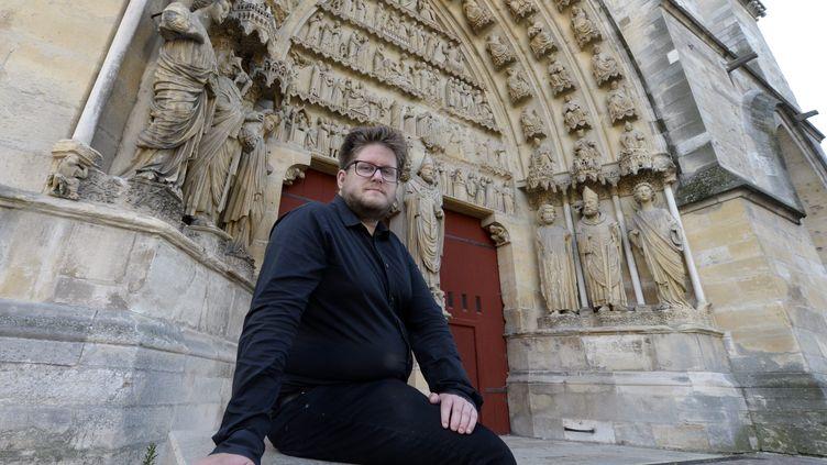 Le fan de Kaamelott Arnaud Klein veut battre le record du monde de visionnages d'unfilm en allant voir le long-métrage d'Alexandre Astier plus de 200 fois. (MAXPPP)