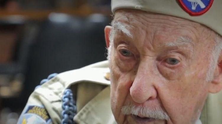 Raymond Wallace, vétéran américain. (FRANCE 2)