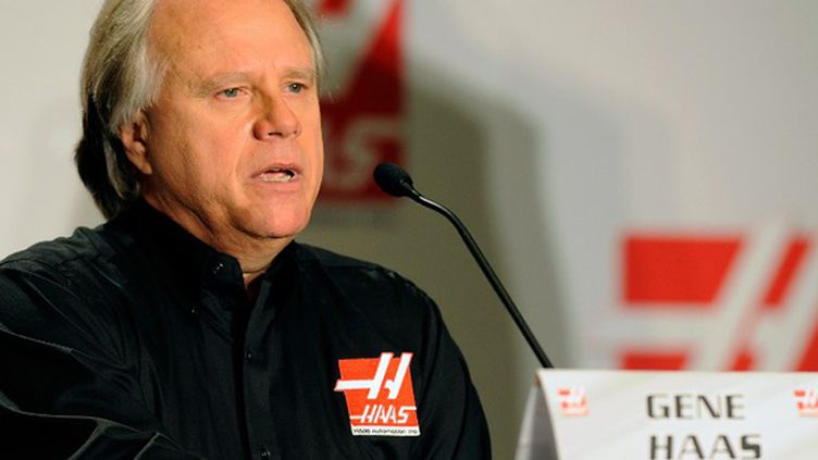 Gene Haas (JARED C. TILTON / GETTY IMAGES NORTH AMERICA)
