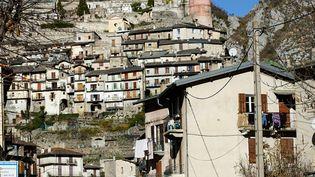 Le village de Tende, dans les Alpes-Maritimes, dévasté par la tempête Alexdébut octobre 2020, le mercredi 18novembre 2020. (FM / FRANCEINFO)